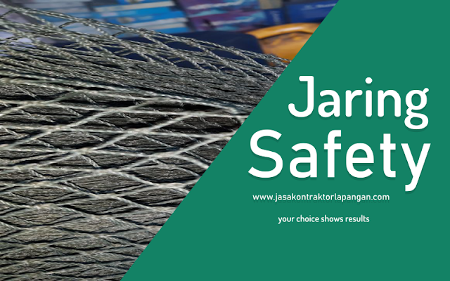 jasa pasang jaring safety pengamanan