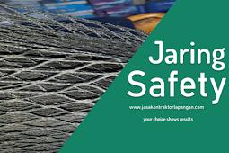 √ Jaring Safety Pengamanan / Jaring Proyek / Jaring Net