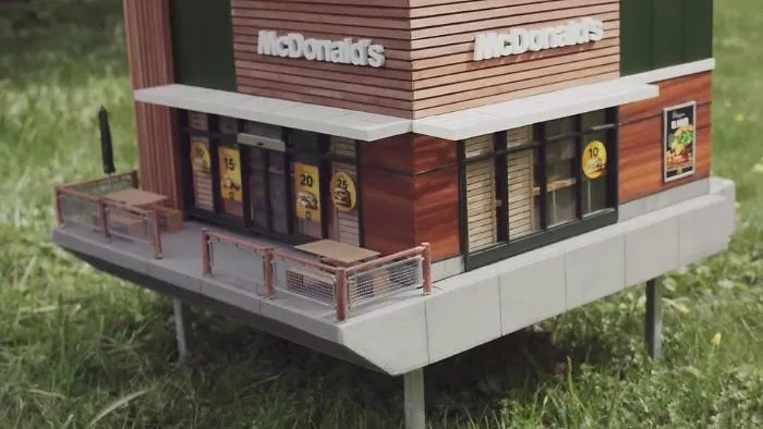 McDonald's Opened An Extremely Tiny Restaurant For Bees