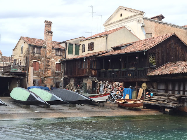 Gondola workshop Venice Italy
