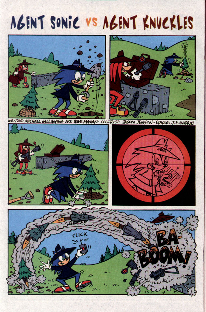 Read online Sonic The Hedgehog comic -  Issue #127 - 19