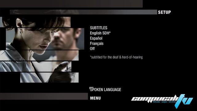 El Legado de Bourne DVDR NTSC Español Latino Menú 2012