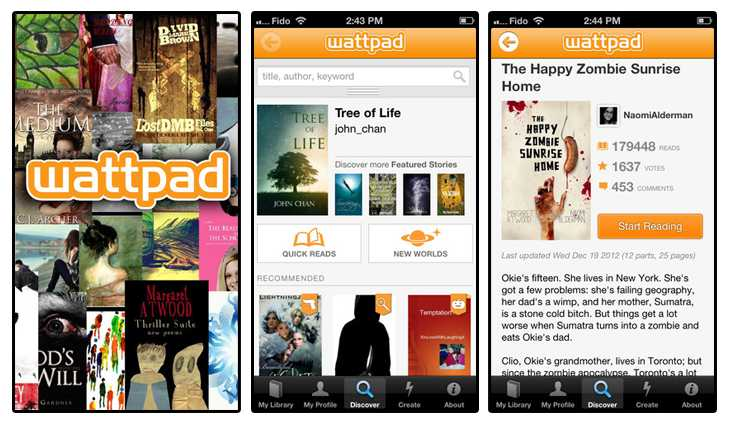 Ebook Stories From Wattpad