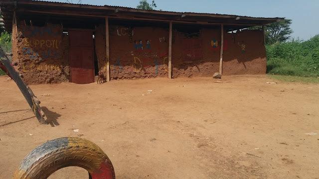 classroom made of mud