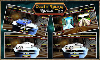 Death Racing Rivals 3D mod Apk unlocked all item