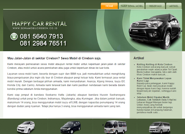 Car Rental Car Rental Cirebon Cirebon and Reliable