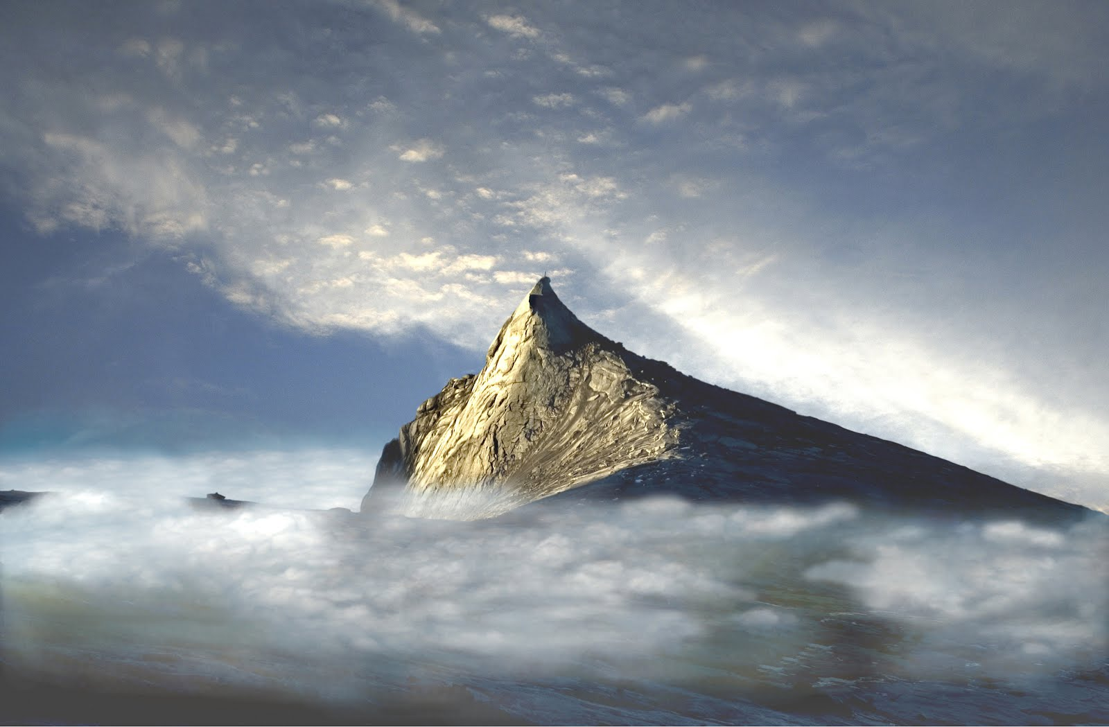 Mount Kinabalu is a mountain located at the West Coast