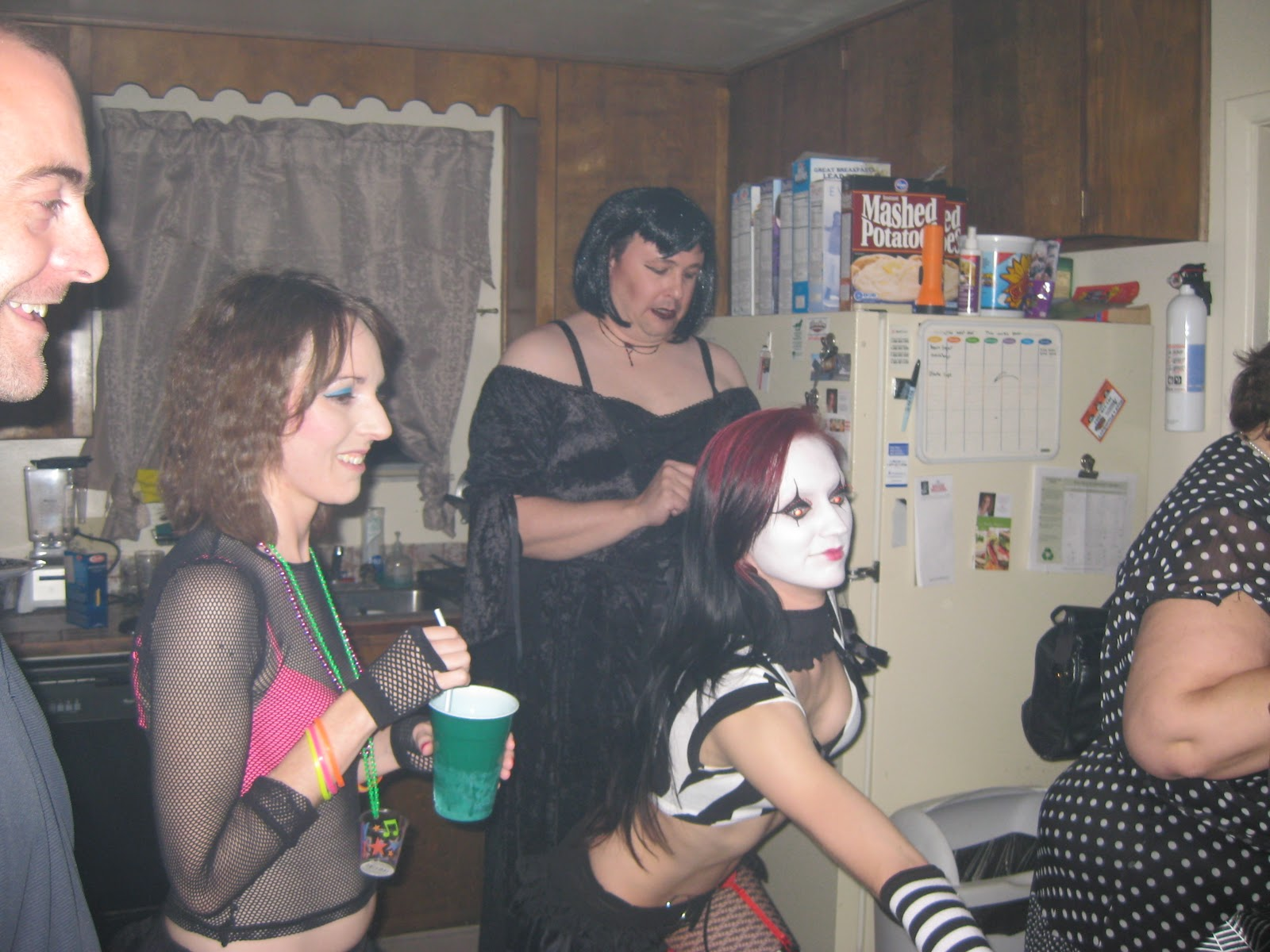 Naughty Bi Bitches Fucking At A Party