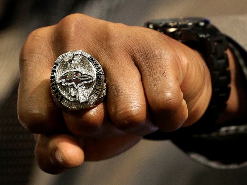 baltimore ravens championship ring 2013