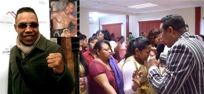 Julio César Green, del ring a la biblia no añora fama y fortuna