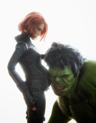 Natasha Romanoff y Hulk