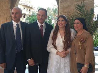 صور رولا خرسا تحتفل بعقد قرانها اليوم الجمعة بمدينة 6 أكتوبر بحضور الإعلامية دعاء فاروق