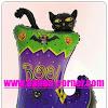 Balon Foil Halloween Boot