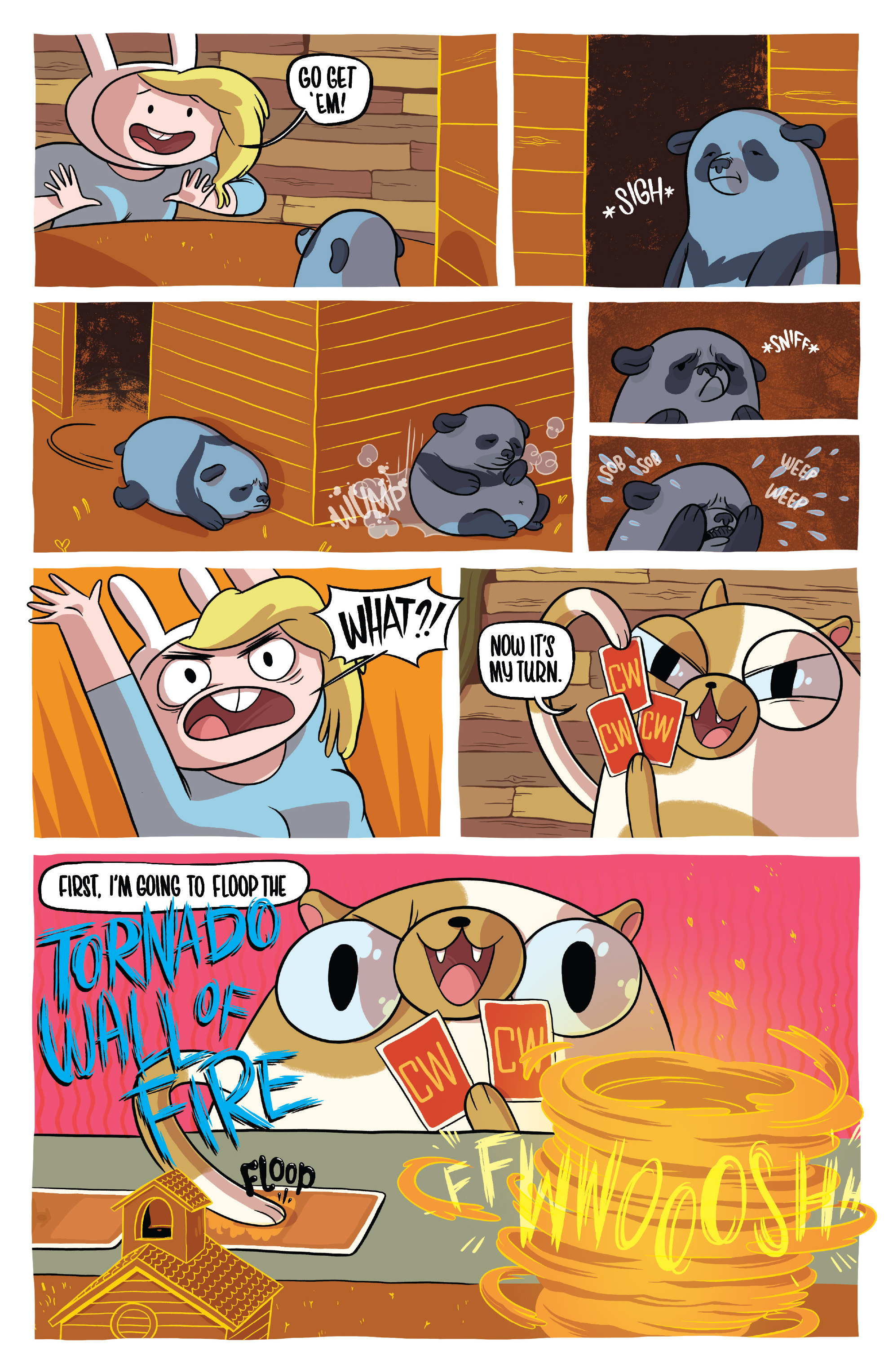 Read online Adventure Time Fionna and Cake Card Wars comic -  Issue #1 - 8