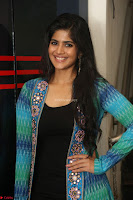Megha Akash in a beautiful Anarkali dress with Long Jacket at LIE success meet ~  Exclusive Celebrities Galleries 021.JPG