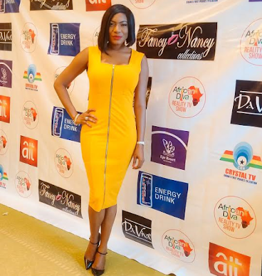 Chika Ike looks lavishing in Yellow for African Diva (Photos)