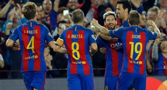 Barcelona Thrash Man City 4:0