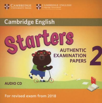 Authentic Examination Papers (PDF, Answer key, CD)