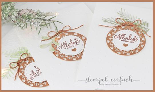 Weihnachtskarten Allerbeste Wünsche