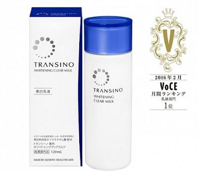 sữa dưỡng trắng da Transino Whitening clear milk