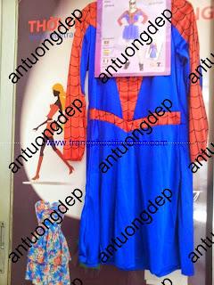 bán trang phục spiderman nữ