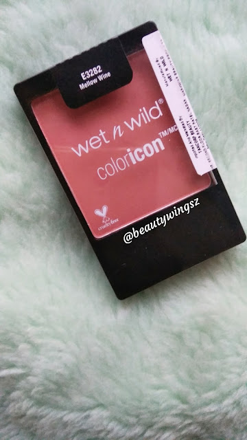 Wet and Wild Color Icon Blusher Mellow Wine Review