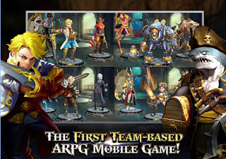 Download Heroes of Skyrealm V1.0.2 MOD Apk ( High Damage )