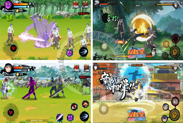 Review Game Android Terbaru - Naruto Mobile Fighter