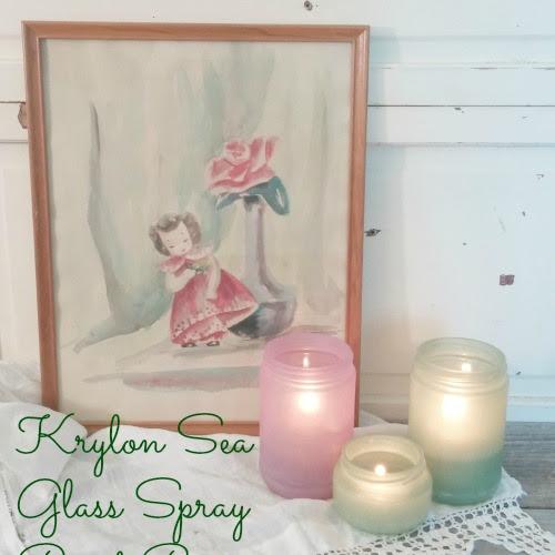 Krylon Sea Glass Spray Paint Review
