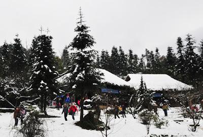 Lễ Hội Tuyết nhân tạo tại sapa