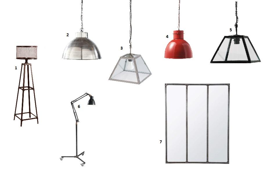 home sweet home 1 style vintage et industriel lm et compagnie. Black Bedroom Furniture Sets. Home Design Ideas