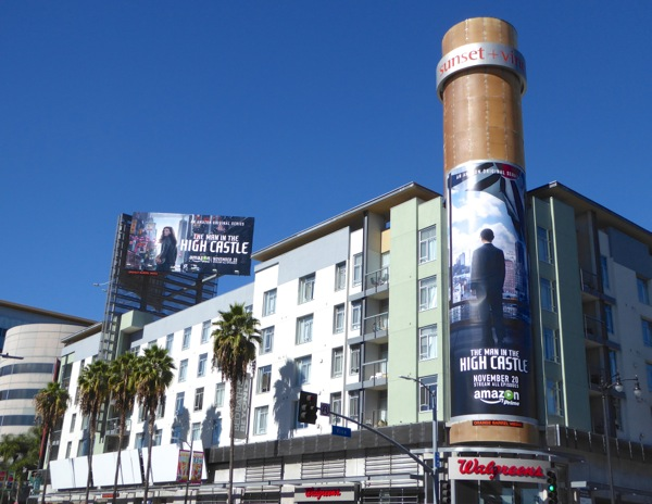 Man in the High Castle series premiere billboards