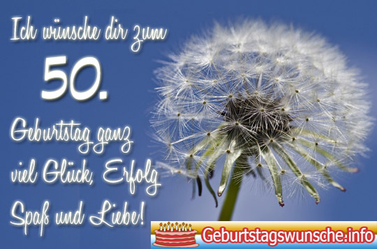 Verse geburtstag 50