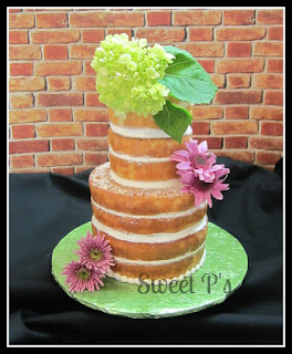 naked wedding cake Senatobia MS