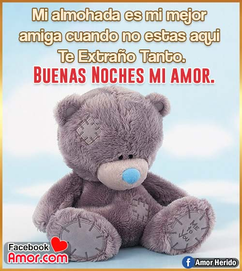 peluches buenas noches amor