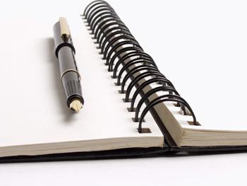 Блокнот, конспект, записи, карандаш, обучение