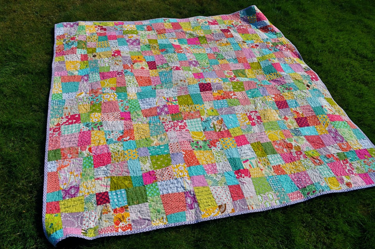 a new quilt for a big-girl bed