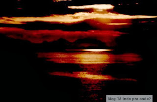 pôr-do-sol em Angra dos Reis