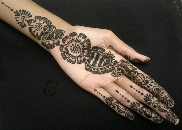Mehndi Designs Gola : Simple gola mehndi design makedes