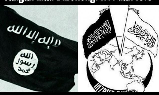 Berdasarkan Hadits, Bendera yang Diusung HTI dan ISIS itu Bukan Panji Rasulullah