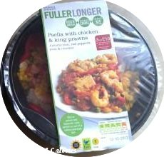 M&S Fuller Longer Paella with Chicken & King Prawns