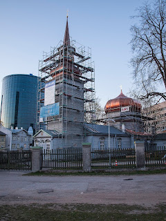 Здание Казанской церкви в Таллине