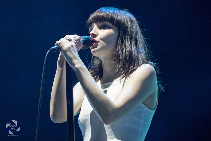 Lauren Mayberry Chvrches Live Glasgow Hydro