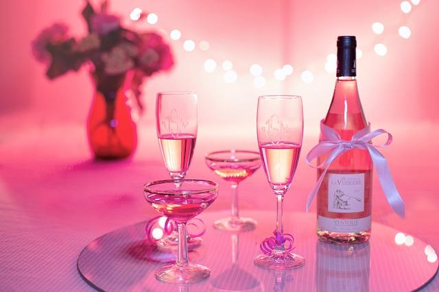 Pink Birthday Wine