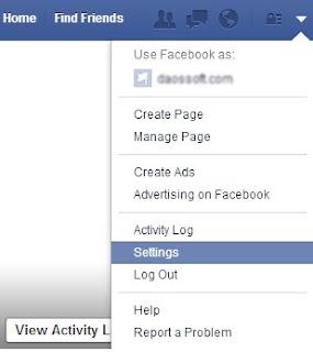 facebook login change password