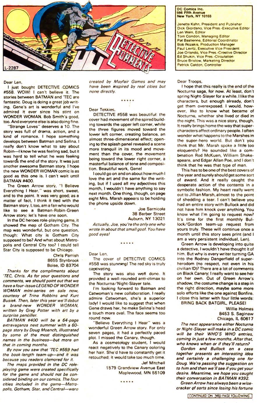 Detective Comics (1937) 562 Page 17