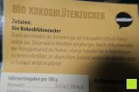 Zutaten: Wohltuer Bio Kokosblütenzucker 2kg
