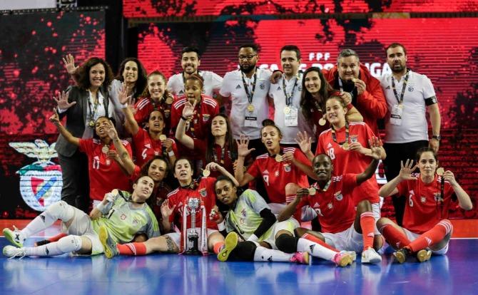 Benfica Blog Vence Taça de Portugal de Futsal Feminino 2018/19