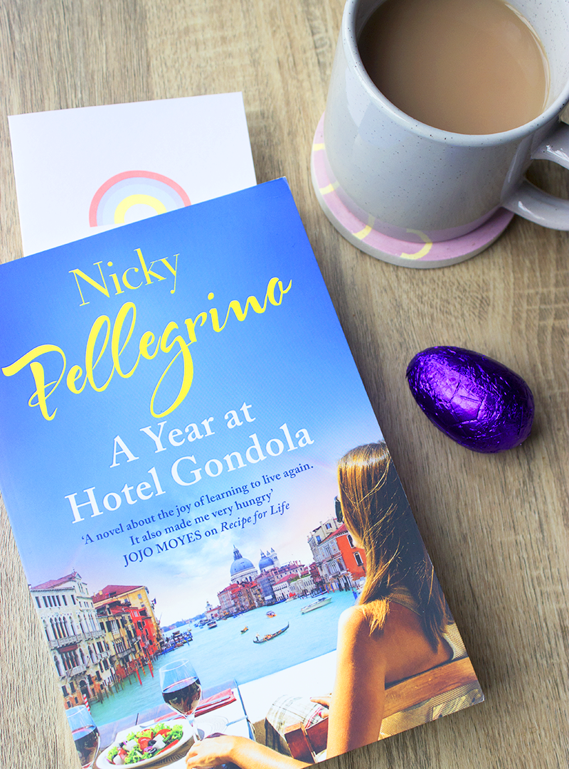 A book review of A Year at Hotel Gondola by Nicky Pellegrino - Venice romance and italian food italy seafood friendship europe