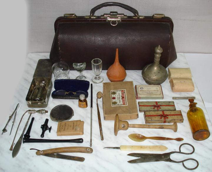 Old Fashioned Medical Instruments